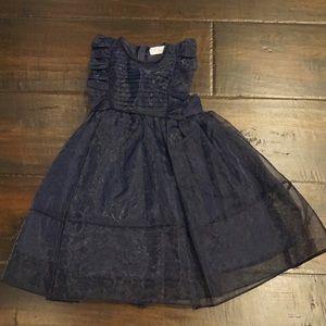 Navy formal dress girls size 4